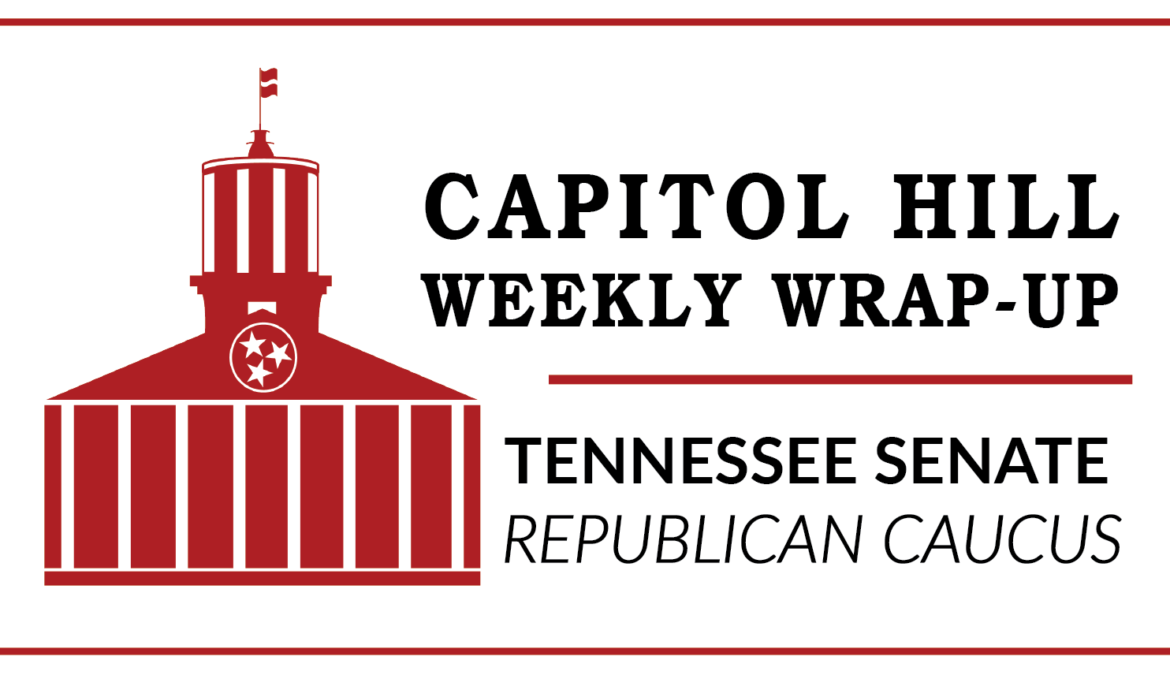 Capitol Hill Week: Legislation calls for Medicaid block grant waiver to construct an innovative plan that better serves the needs of TennCare recipients